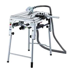 Festool Tischsäge PRECISIO CS 70 EB (230V, halbstationär, mitfahrendem Splitterschutz, versenkbarem Spaltkeil, Kappschnitte bis zu 320 mm Breite - Längsschnitte bis Schnitthöhe von 70 mm), 561136