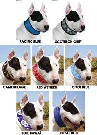 Aqua Coolkeeper Kühlendes Halstuch für Hunde - Camouflage (Gr. M 27-34cm x 4cm)