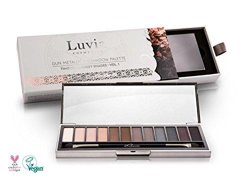 Paleta de sombras para el párpado de Luvia Cosmetics