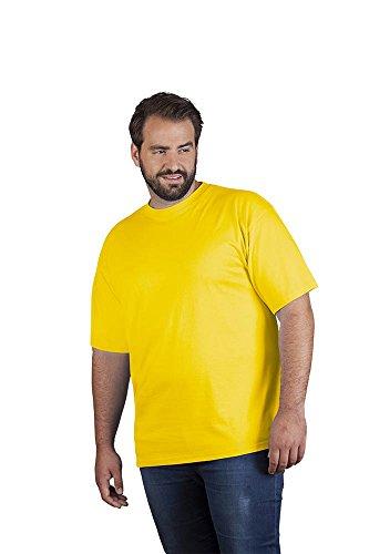Premium T-Shirt Plus Size Herren, XXXL, Gelb