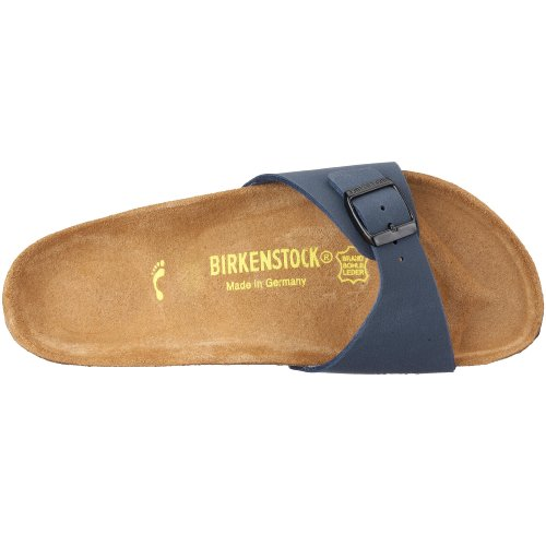 Birkenstock Madrid Birko -Flor Bleu (Nubuck Navy)