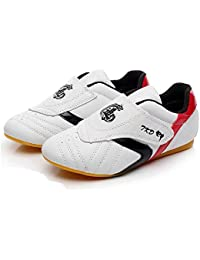 4f2026e4fe52 Man Y Chaussures de Taekwondo pour Enfants Enfants Adulte Respirant Doux  Oxford Chaussures De Wushu Professionnel Taekwondo
