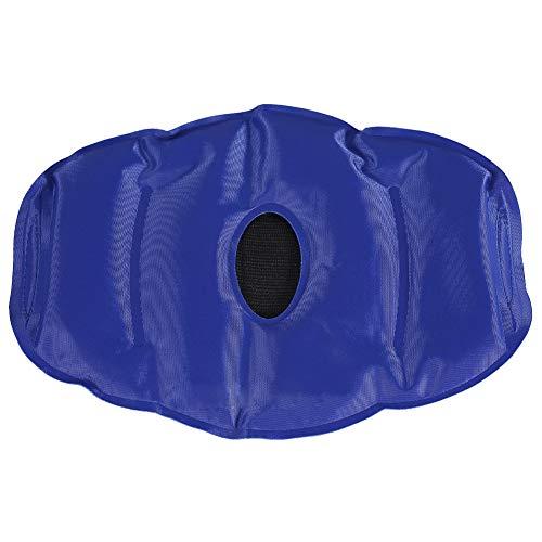 Ice Pack with Wrap, 2 Farben Hot Cold Gel Pack Wrap für Knie-Schmerzlinderung, Bead Strap für Knie, schnellere Erholung für Sportler und High-Performer(Tiefes Blau) -