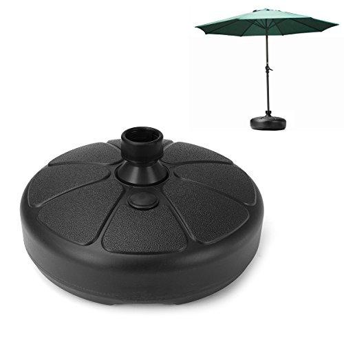 ipree 38mm Outdoor Garten Sonnenschirm Ständer Sonnenschirmständer aus Kunststoff