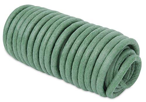 Windhager Baumanbinder mit Schaumummantelung Bindedraht geschäumt, Grün, 10 m / 8 mm, 06179