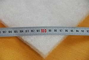 Volumenvlies 200g//m² //// Wattevlies Polsterwatte Steppvlies Polyestervlies Diolen