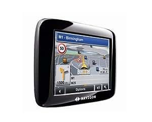 Navigon 2110 GPS Europe Carte sur SD 2MB, MN6 TMC avec antenne intégrée noir