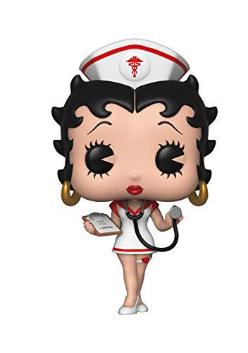 Funko 35589 Pop Vinyl: Animation: Betty Boop: Nurse, Multi