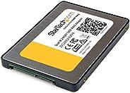 StarTech.com Dual M.2 SATA Adapter with RAID - 2x M.2 SSD إلى 2.5 بوصة SATA (6 جيجابايت) محول RAID مع دعم TRIM