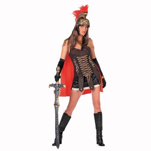 PARTY DISCOUNT SALE Damen-Kostüm Spartacus-Lady, 2 tlg, Gr. 34