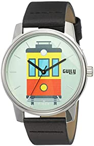 Gully by Timex Travel Analog Turquoise Dial Men's Watch-TW000