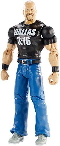 Mattel DXG48 - WWE WrestleMania 33 Stone Cold Steve Austin Actionfigur