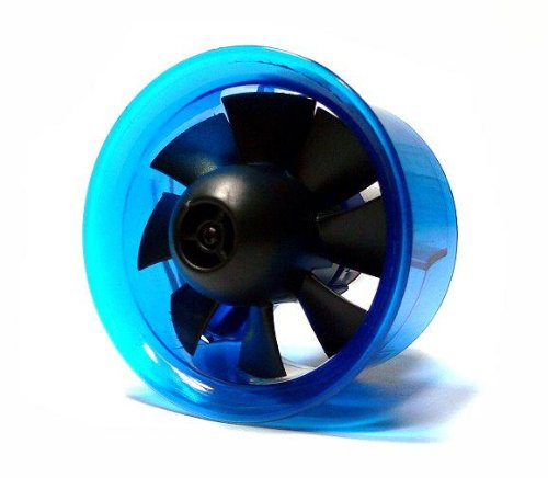 AEO Aircraft 4750KV Brushless Motor 64mm 8 Blatt Elektro Impeller EDF OM127 mit RCECHO Vollversion Apps Ausgabe (Edf Motor)
