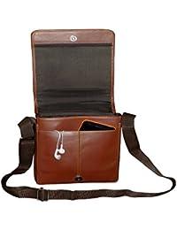 Style98 Genuine Leather Traveller Neck Pouch,Messenger Bag And Passport Sling Bag For Men,Women,Boys & Girls -... - B01H8OE1MS