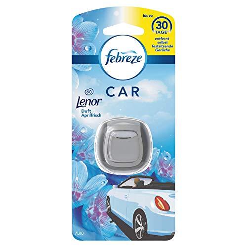 Febreze Lenor Aprilfrisch Auto-Lufterfrischerclip, 3er pack
