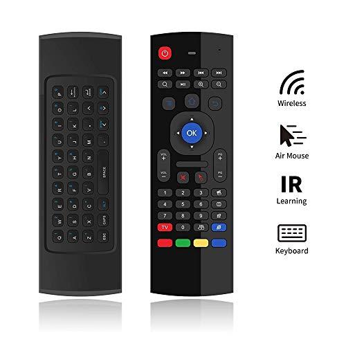 PULIER MX3 Pro Air Mouse Teclado Inalámbrico IR Aprendizaje