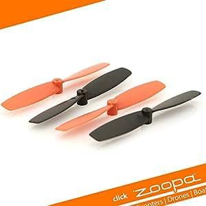 ACME - pales de rotor principal pour quadrocopters zoopa roonin Q155 (ZQ0155-C)