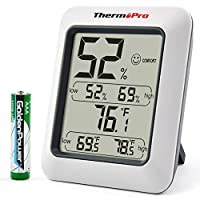 ThermoPro TP50 Digital LCD Thermometer Hygrometer Temperature Humidity Meter