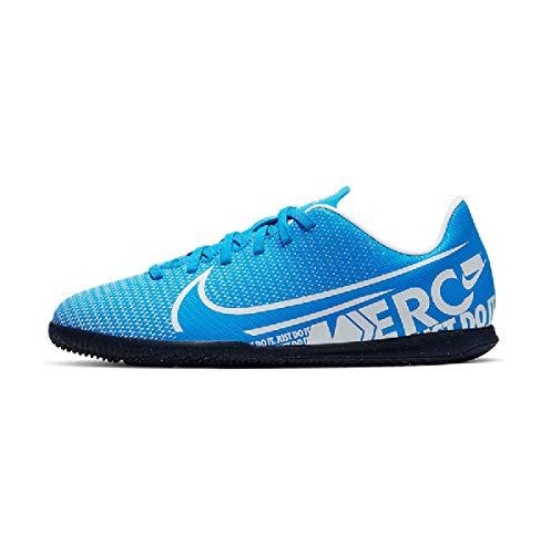 Nike JR Vapor 13 Club IC, Botas de fútbol Unisex niño, (Blue Hero/White/Obsidian 414), 34 EU