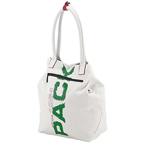 Pack Easy  Borsa Messenger, Bianco