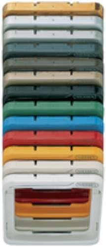Niessen arco - Marco tecla serie arco blanco marfil