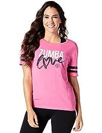 Zumba Fitness Women's Love Tee Top, Womens, Love Tee