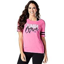 Tops para mujer de Zumba Fitness Zumba Love, todo el año, mujer, color Shocking Pink, tamaño medium