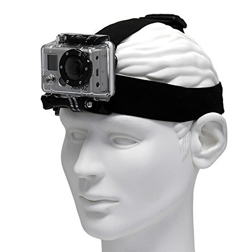 YANTRALAY SCHOOL OF GADGETS 2 in 1 Head Strap and Chest Mount for GoPro, SJCAM, Yi, Action Cameras