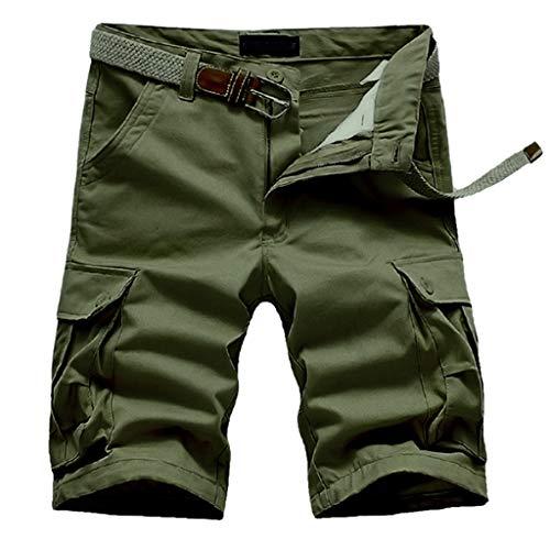 BURFLY Herren Sportshorts Bermuda Shorts Angepasste Shorts Windproof Feuerzeug Zusammen gebündelt Control-fit-jeans
