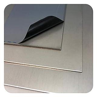 Edelstahlblech V4A 1.4571 Platten Bleche Zuschnitte nach Auswahl
