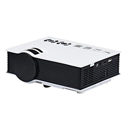 2017 Negro Viernes - Mini Proyector, Damark(TM) 1080P HD LED Inicio MulitMedia...