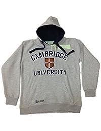 Cambridge University - Sudadera con Capucha - para Hombre