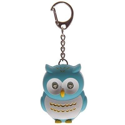 Hooting Owl LED Keyring