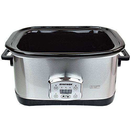 Syntrox Germany 7,5 l Slow Chef SC-750D Schongarer - 5