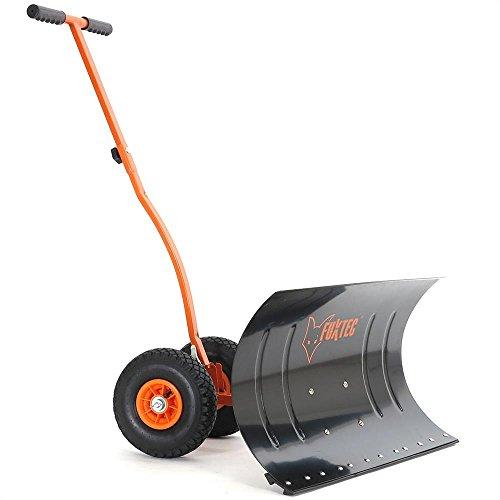 FUXTEC fx-ss-740Schneeschieber 75cm, 46cm, 150cm) schwarz, orange