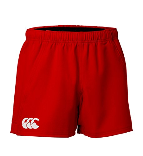 Canterbury - SHORT ADVANTAGE ROUGE CANTERBURY - taille :