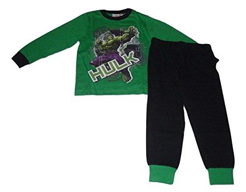 Incredible Hulk Marvel Avengers -  Pigiama due pezzi  - ragazzo verde verde