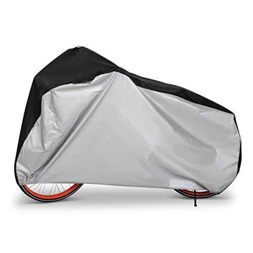 Telo Copribici Impermeabile, LIHAO Copertura Bici Bicicletta Antipolveri Anti-UV per Esterni, con Sacca per il Trasporto