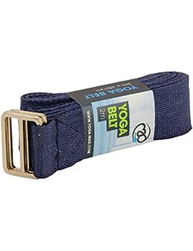 Yoga Mad Yoga - Cinturón de yoga para mujer, color azul