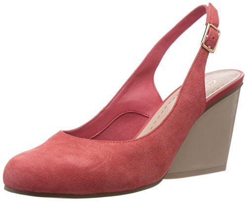Clarks Women's Demerara Sugar (Fit D) Leather Pumps