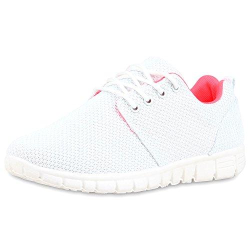 Best-boots Donna Unisex Scarpe Da Corsa Sneaker Sportiva Sneakers Sportive Bianco Neon Rosa Nuovo