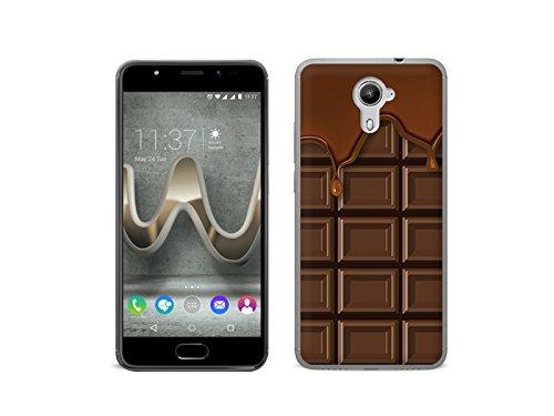 etuo Handyhülle für Wiko Ufeel Prime - Hülle Fantastic Case - Schokolade - Handyhülle Schutzhülle Etui Case Cover Tasche für Handy