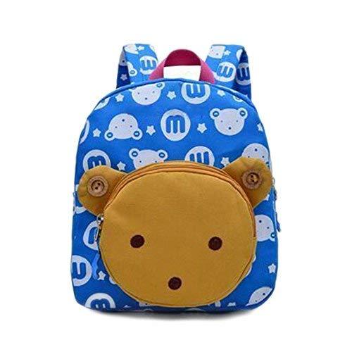 Flyingsky Kinderrucksack/Schultasche für Mädchen mit Kaninchen-/Tier-Motiv  Blau himmelblau