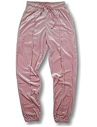 AOTUBON Pantalones Jogger Jogging terciopelo Hip Hop