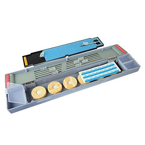 bidyn £ ¨ TM) ABS Multifunktional Aufziehen Board Angeln Box Float Set Angeln Line Wurm Köder Lure Fly Fisch Haken Tackle Box yc102-sz