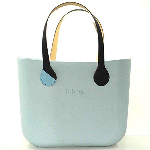 Borsa o bag grande polvere con sacca e manico lungo blu b\color new collection (k)