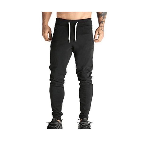 28c37c21e4 Moda Pantalones para Hombre Jogging Fitness Deportivos Pantalón de Chándal  Slim Stretch Casuales Largos Jogger Pantalones