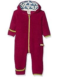 loud + proud Baby-Mädchen Schneeanzug Overall Wollfleece