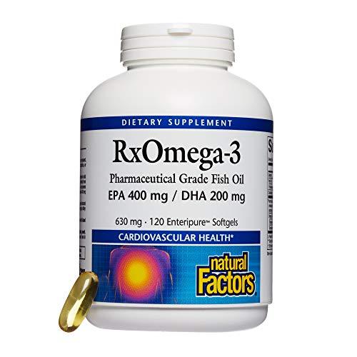 Natural Factors, Dr. Murray\'s Rx Omega-3 Factors, 120 Weichkapseln