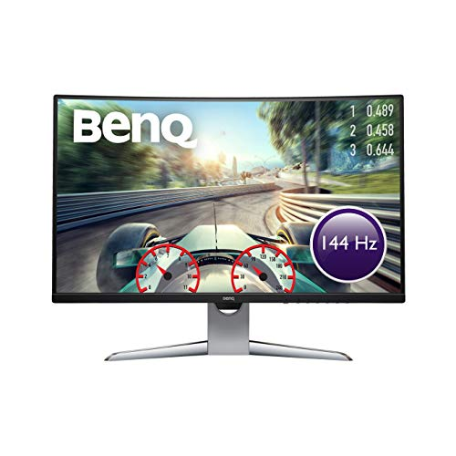 BenQ EX3203R 80,01 cm (31,5 Zoll) Curved Gaming Monitor (HDMI, QHD 2K HDR, 1800R, FreeSync 2, B.I. Sensor, Display Port, USB-C, 144 Hz)